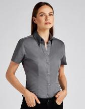 Women´s Tailored Fit Corporate Oxford Shirt Short Sleeve
