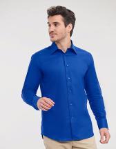 Men`s Long Sleeve Tailored Oxford Shirt